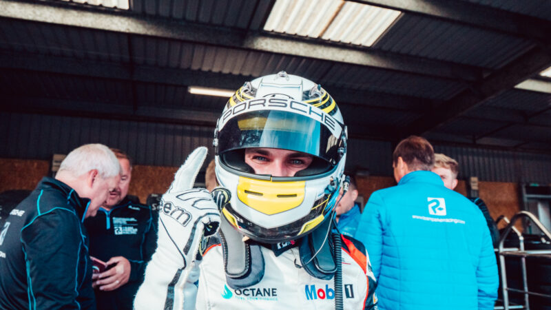 Harry King back on top at Knockhill