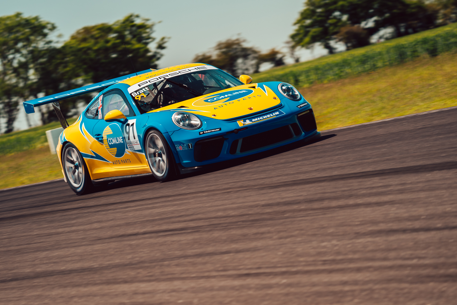Richardson Racing adds Will Bratt to expanded Carrera Cup programme alongside Comline