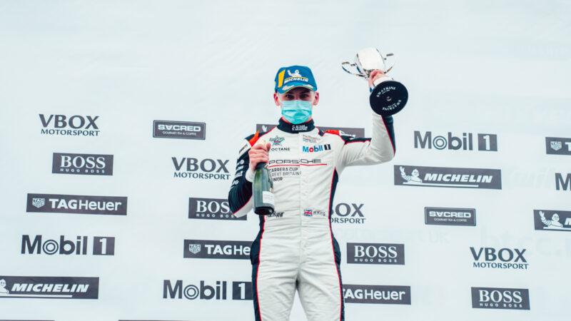 Harry King fights back for Brands Hatch podium