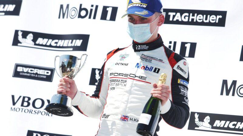 Double podium finish for Harry King in Snetterton opener