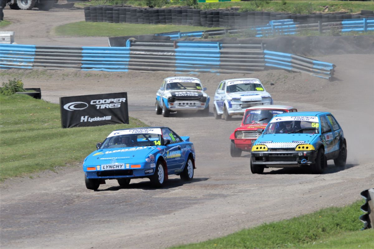 Landsail Team Geriatric secures double podium at Lydden Hill