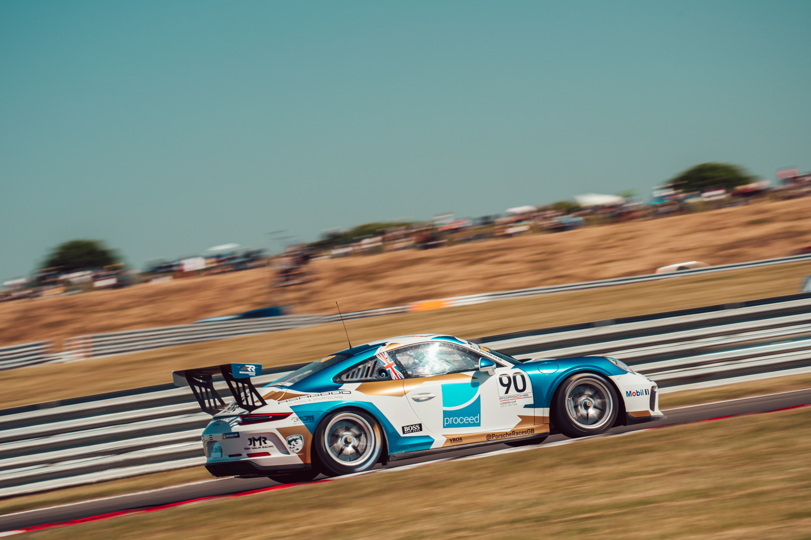 Solid pace for Richardson Racing in Porsche Carrera Cup GB opener