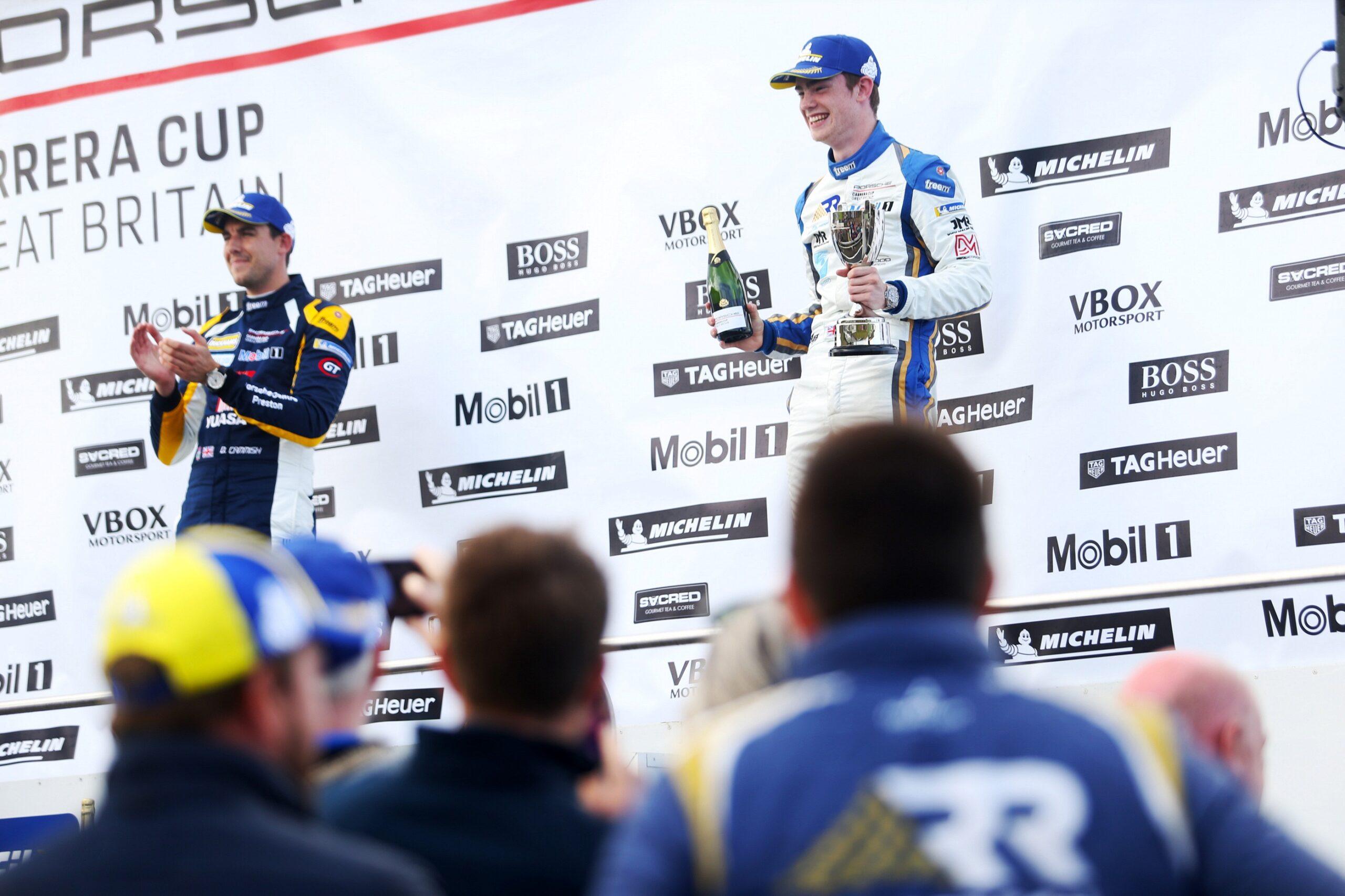Pole and podium for Richardson Racing at Knockhill
