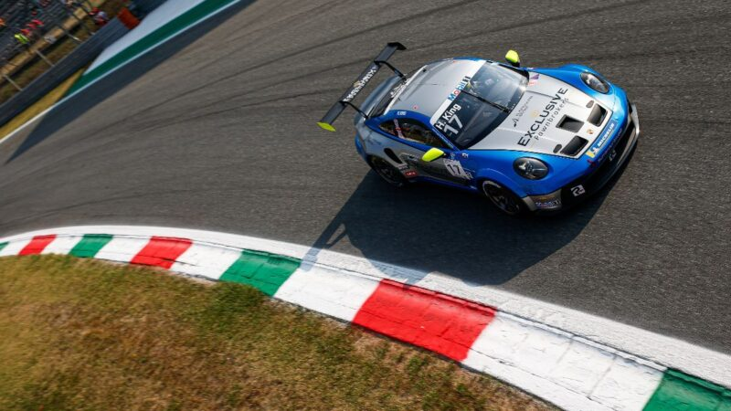 Harry King saves the best to last at Monza