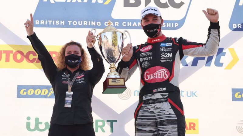 EXCELR8 with TradePriceCars.com secures breakthrough BTCC win on home soil