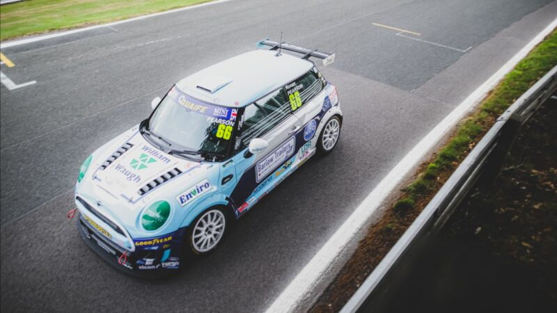 Ronan Pearson salvages points from tough Oulton Park weekend